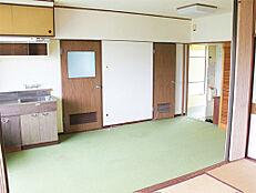 6.5畳のキッチン