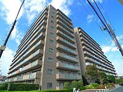 新松戸ガーデニア[8階]の外観