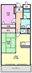 プレジール[2階]の間取り