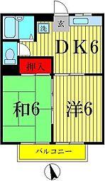 新宿エスポワール[2階]の間取り