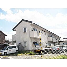 長野県松本市出川の賃貸アパートの外観
