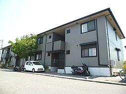 大阪府羽曳野市南恵我之荘5丁目の賃貸アパートの外観