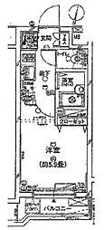 プレール・ドゥーク新高円寺[302号室号室]の間取り