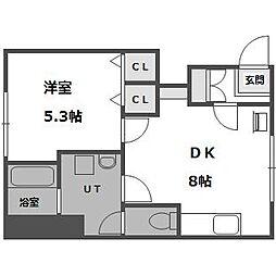 ヴィラ24 5番館[1階]の間取り