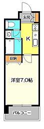 島田マインドタワー[2階]の間取り