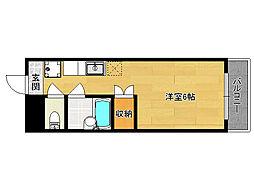 メゾンハウスII[305号室]の間取り