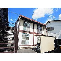 奈良県奈良市三条大宮町の賃貸アパートの外観