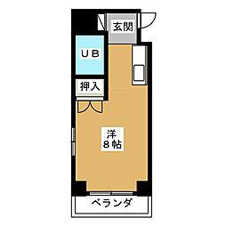 平成パレス[3階]の間取り