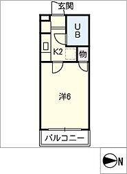 エレガンスSAWADA[2階]の間取り