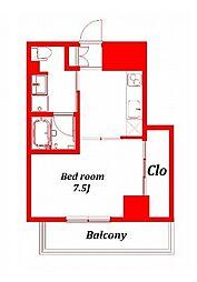 アインハウス -EINHAUS-[5階]の間取り