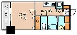 サヴォイ箱崎セントリシティ[2階]の間取り