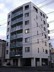 北海道札幌市中央区南四条西14丁目の賃貸マンションの外観