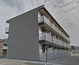 広島県福山市加茂町大字下加茂の賃貸アパートの外観