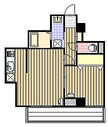 Villa norte(ヴィラ ノルテ)23[4階]の間取り