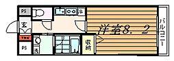 神興レジデンス[4階]の間取り