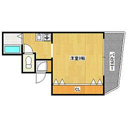 メゾン・キミヨ[2階]の間取り