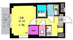 b'CASA Machiya[2階]の間取り