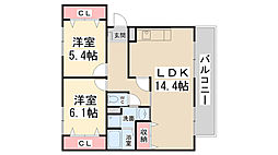 S・Tハウス[201号室]の間取り