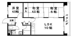 メゾンニシムラ[2階]の間取り