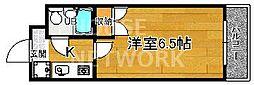 下京区第17長栄シャルマン四条大宮壱番館[103号室号室]の間取り