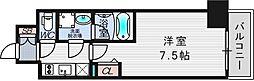 ファーストフィオーレ東梅田[8階]の間取り