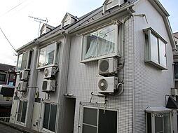 神奈川県横浜市港北区菊名5丁目の賃貸アパートの外観