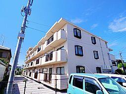 東京都東久留米市野火止3丁目の賃貸マンションの外観