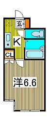 蕨ヒルズE棟[2階]の間取り
