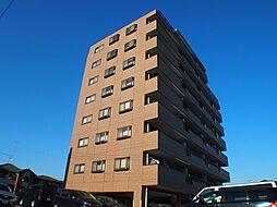 栃木県宇都宮市元今泉2丁目の賃貸マンションの外観