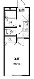 メゾン笹塚[1階]の間取り
