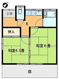 [タウンハウス] 東京都足立区加賀1丁目 の賃貸【/】の間取り