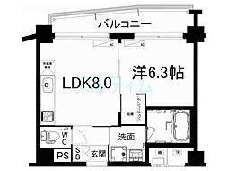 プリオーレ・リベルタ桂A棟[4階]の間取り