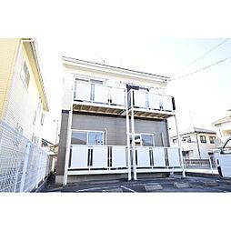 愛知県北名古屋市法成寺の賃貸アパートの外観