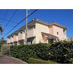 静岡県浜松市中区高丘東4の賃貸アパートの外観