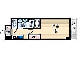 トレエッセ茨木[5階]の間取り