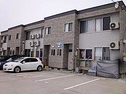 秋田県大仙市幸町の賃貸アパートの外観
