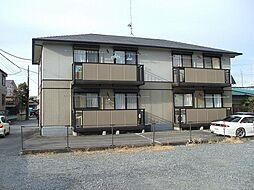 栃木県下都賀郡壬生町中央町の賃貸アパートの外観