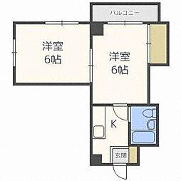 第7大岡ビル[4階]の間取り