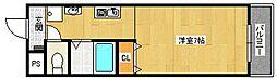 エステート南津の辺[2階]の間取り