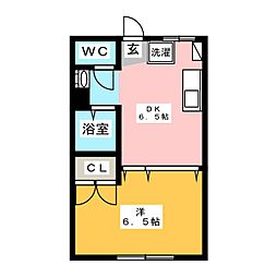 森田ビル[3階]の間取り