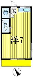 みづほ荘[1階]の間取り