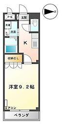 富山県富山市大泉の賃貸アパートの間取り