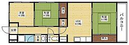 ノルデンハイム柴島[2階]の間取り