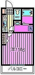 クレストコート[1階]の間取り