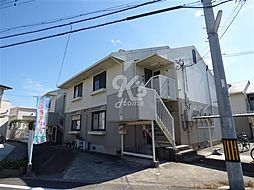 兵庫県明石市二見町東二見の賃貸アパートの外観