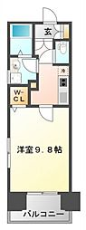 TMK江坂[10階]の間取り