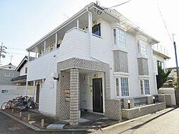 滋賀県大津市晴嵐2丁目の賃貸アパートの外観
