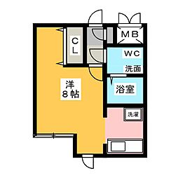 MODULOR社台[3階]の間取り
