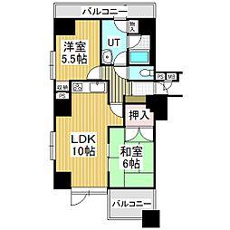 ライオンズマンション苫小牧錦町[11階]の間取り