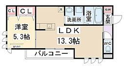 仮称)D-room瑞穂[301号室]の間取り